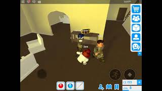 """ROBLOX game play """"guest world"""" with my bro"""