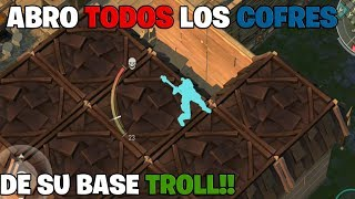 ABRO TODOS LOS COFRES DE SU BASE TROLL!! | LAST DAY ON EARTH: SURVIVAL | Keviin22