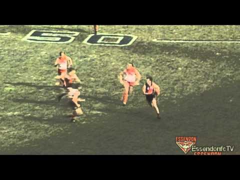 Flashback - Essendon players clean up Tony Lockett