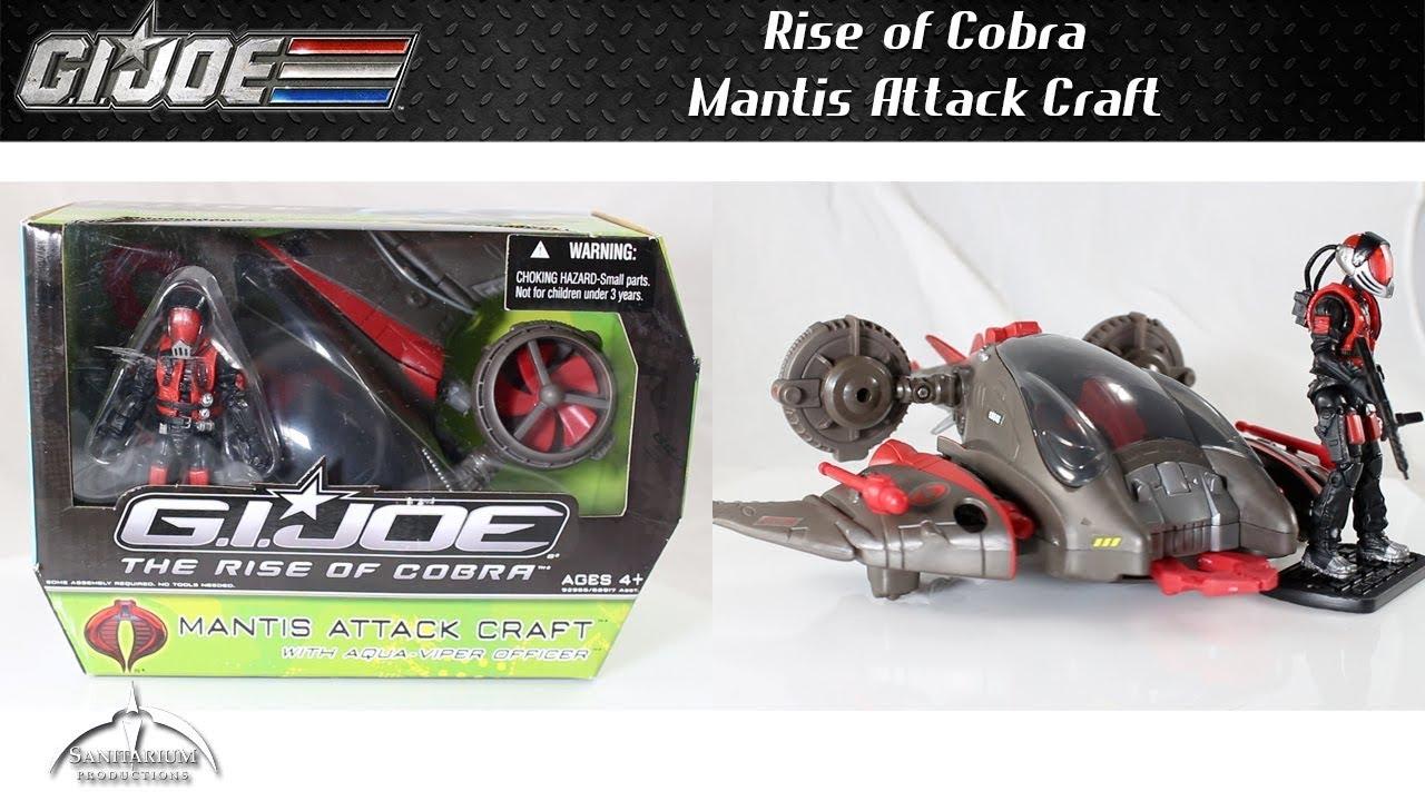G.I Joe Mantis Attack Craft Aqua Viper Rise of Cobra