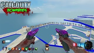 HARDEST MAP EVER? HAH. EASY. OCTOGONAL ASCENSION CHALLENGE MAP! (Black Ops 3 Zombies)