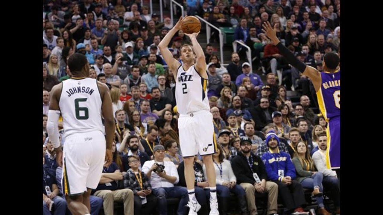 Joe Ingles is making it hard for the Utah Jazz to keep him out of the ...