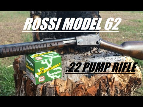 Rossi Model 62  22 Pump Action Rifle