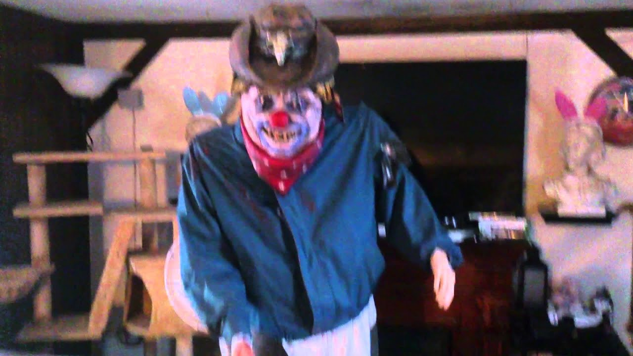 Animated Rotating Rodeo Clown Halloween Prop (From Halloween ...