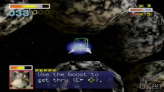 Star Fox 64 (VC) - Playthrough : Meteo, Asteroid Field