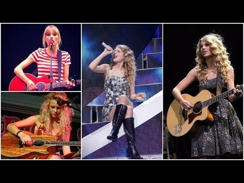 Teardrops On My Guitar - Taylor Swift Voice Evolution