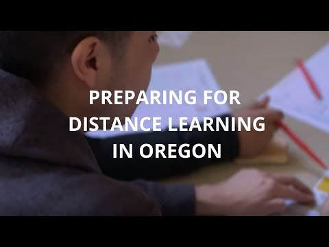 Preparing For Distance Learning In Oregon