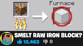 I Busted YOUR Minecraft Myths..