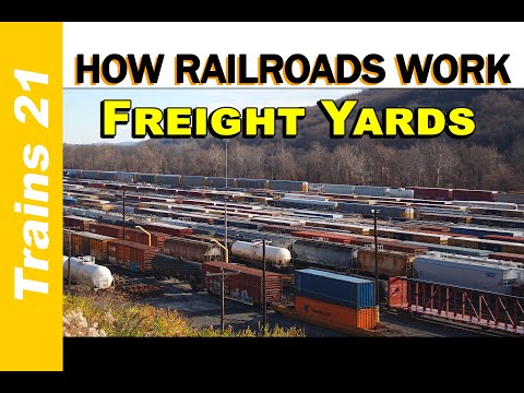 HOW RAILROADS WORK Ep. 1: Freight Yards