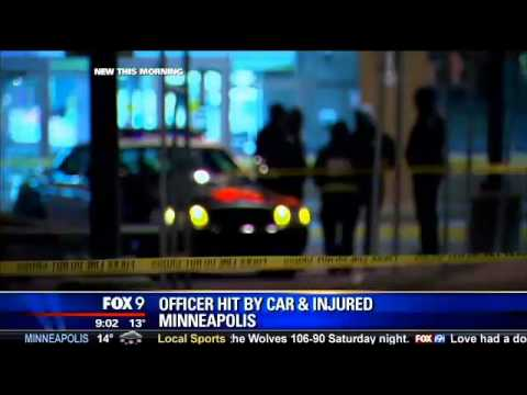 Minneapolis police officer run over by suspected Cub Foods shoplifters