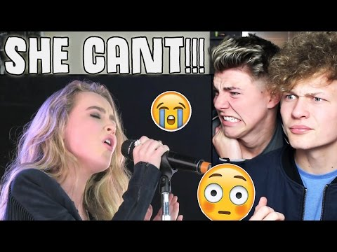 Sabrina Carpenter Cannot Sing (With Out Auto-tune)