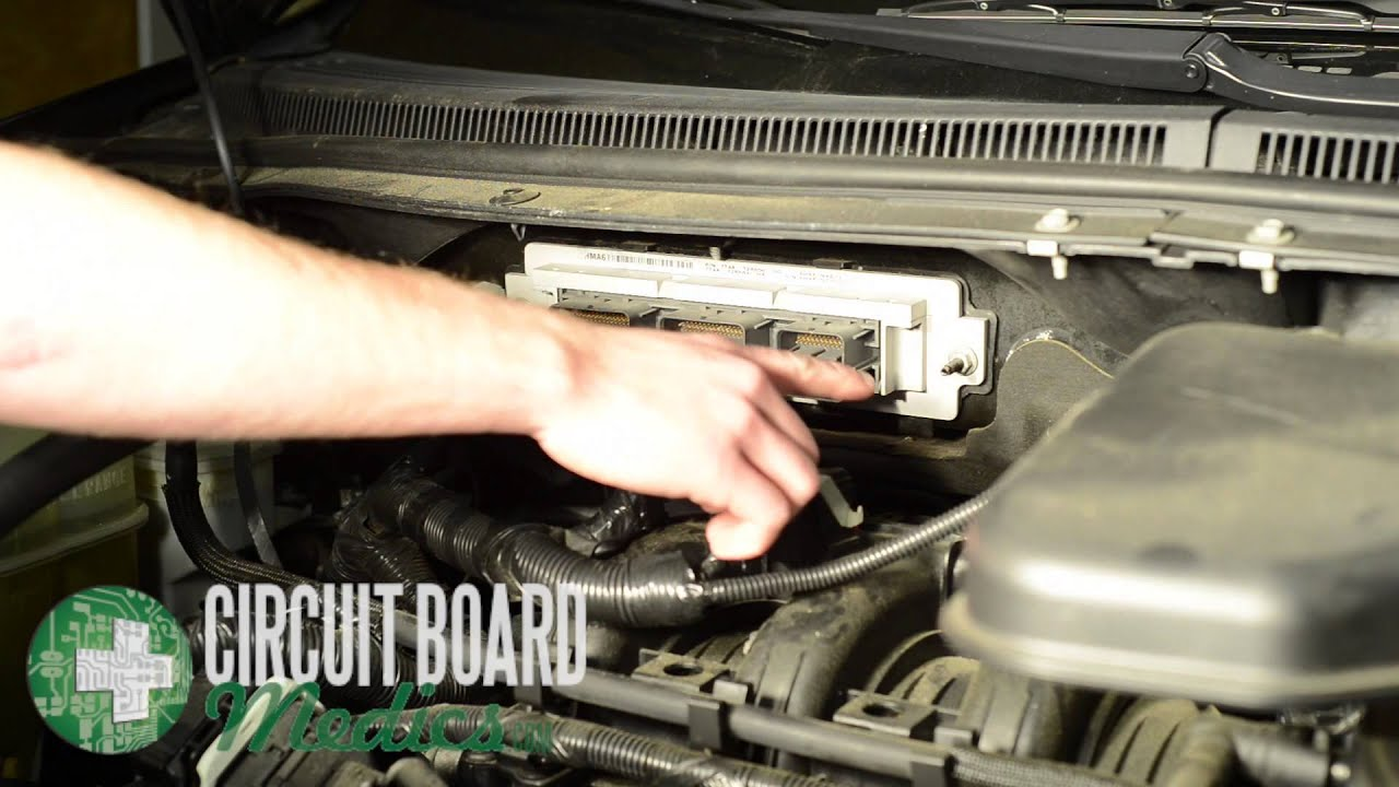 Ford Edge PCM Repair and Removal  YouTube