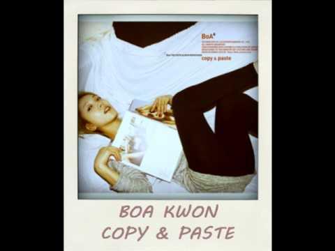 BoA Kwon  Copy & Paste S