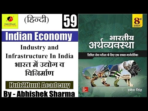 Indian Economy part 59 | Industry and Infrastructure | Industrial Policy |
