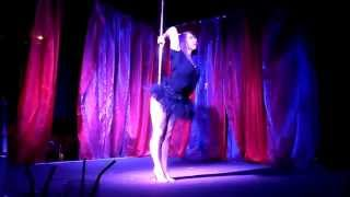 Lil Miss Strange at the True Colours Pole Room