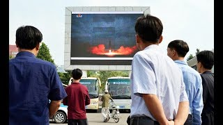breaking north korea launches missile over japan