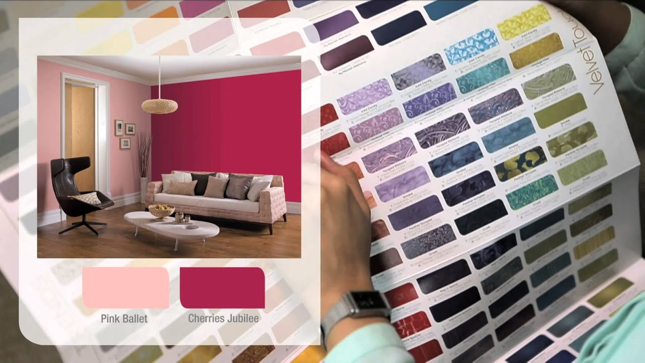 Dulux Velvet Touch Shade Card English Youtube