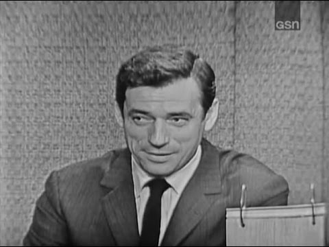 What's My Line? - Yves Montand; Barry Nelson [panel] (Oct 22, 1961)