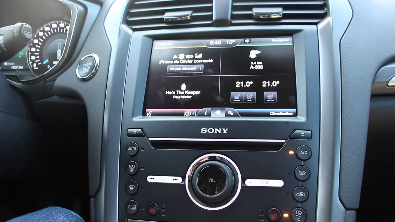D 233 Monstration Du Syst 232 Me Ford Sync 2 Youtube