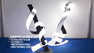 Flexible LED, 전시회 진출 | 친환경 벤처기업 턴투(Turnto) | 와디즈펀딩