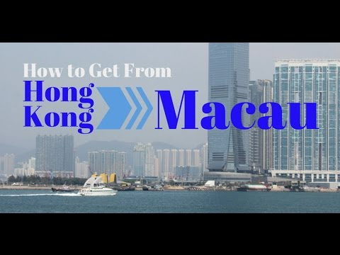 How To Get The Hong Kong To Macau Ferry - Important Info For