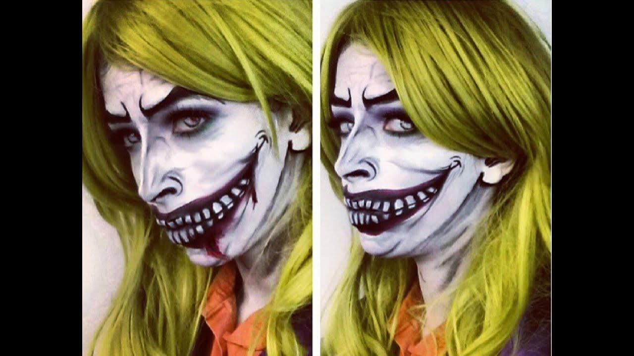 Halloween Makeup: The Joker Makeup - YouTube