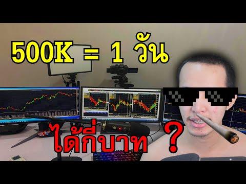 ซื้อหุ้น 500000 บาทผ่านไป 1 วันจะได้เงินกี่บาท ?