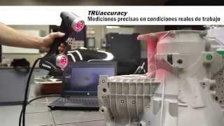 HandySCAN 3D: escáneres 3D completamente portátiles para aplicaciones de metrología