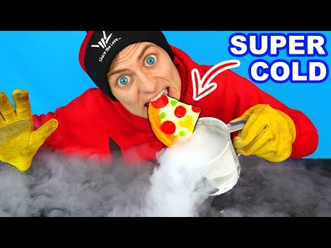 WORLDS COLDEST GUMMY FOOD!! (LIQUID NITROGEN)