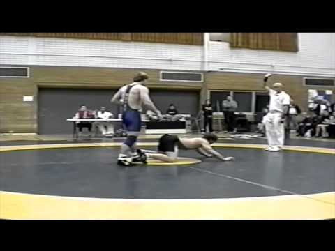 2001 Dual Meet: 82 kg Dan Dupuis (UofS) vs. Chris Maynes (UofA)