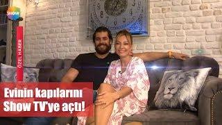 Özge Özder evinin kapılarını ilk kez Show TV'ye açtı!