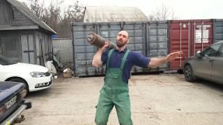 Денис Пахомов. Гантель 66 кг