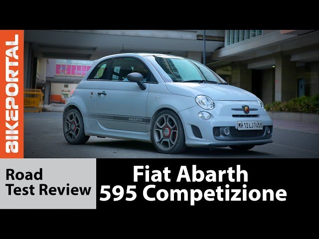 Fiat Abarth 595 Competizione Test Drive Review - Autoportal