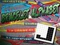 Friendship Bracelet Crochet Yarn, Alphabet Letter J
