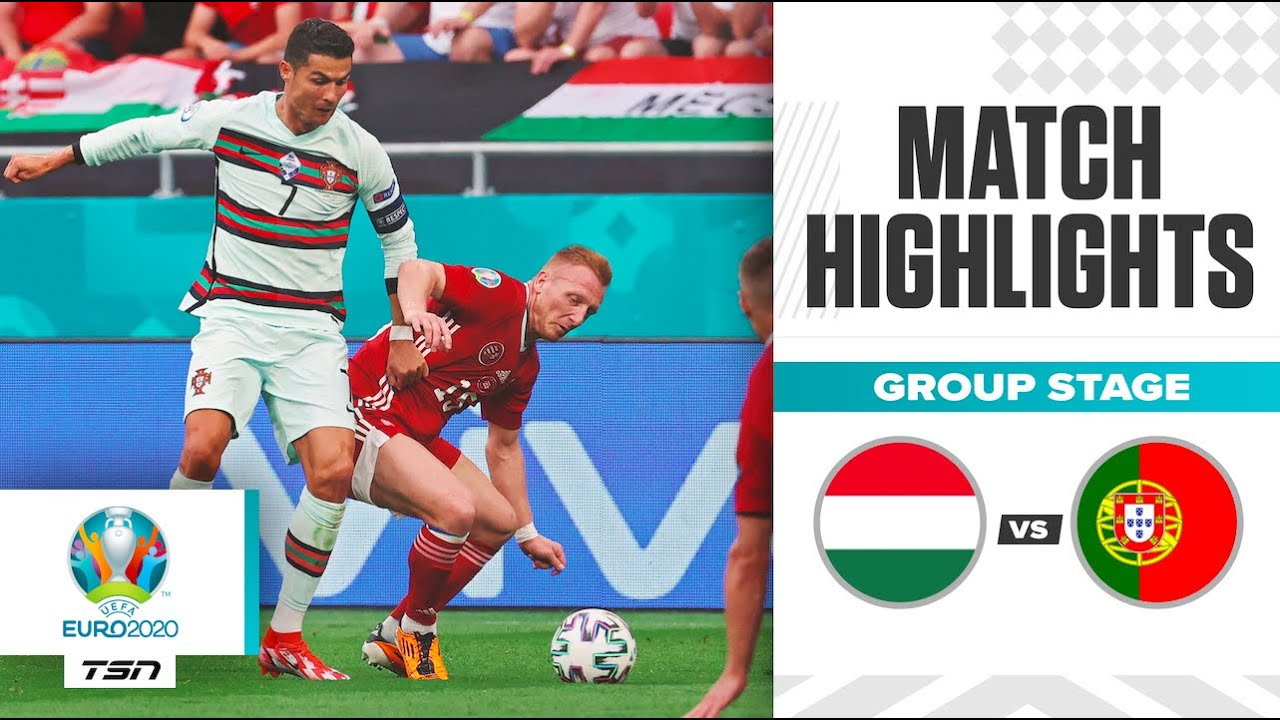 Portugal scores three late goals to defeat Hungary