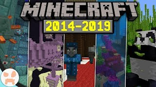EVERY Minecraft Update in the LAST 5 YEARS