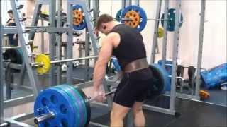 Становая тяга, 210 х 4. Тренировка спины от #ДК