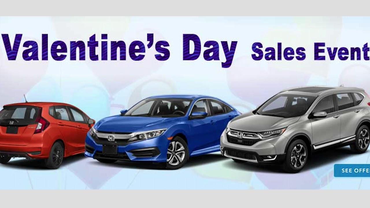 Valentines Day Sales Event At Santa Barbara Honda