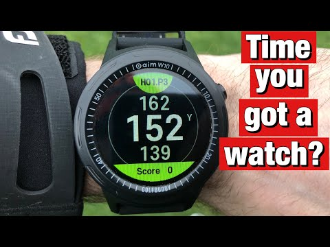 Golfbuddy aim w10 gps watch review - should you buy a gps golf watch?