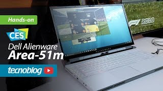 Dell Alienware Area 51m é notebook com i9, RTX 2080 e 64 GB de RAM!