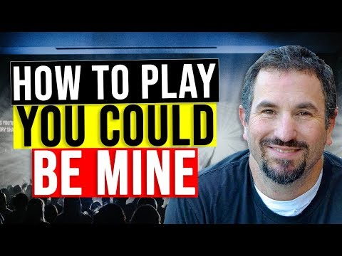 How To Play You Could Be Mine On Guitar