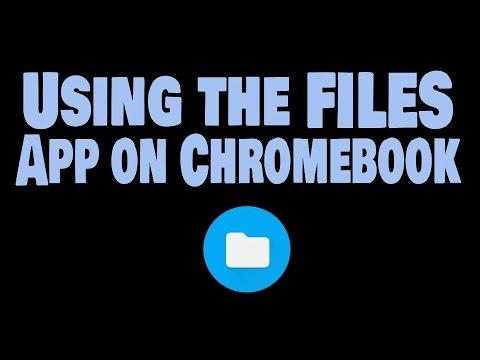 Use Files App on Chromebook to Move Files Around