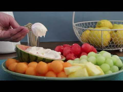 How To Make Fruit Dip | Party Food | Allrecipes.com