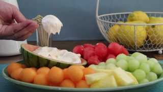 Party Food - How To Make Fruit Dip