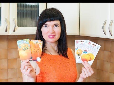 Желтые и оранжевые томаты. Какие семена выбрать?