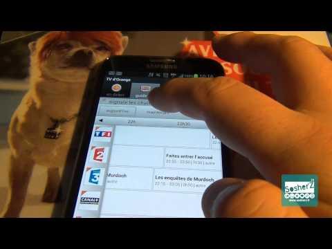 SosherZ.fr Test de l'option & l'Application TV d'orange