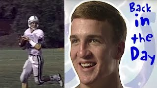 Peyton Manning Reacts to his High School Highlights!