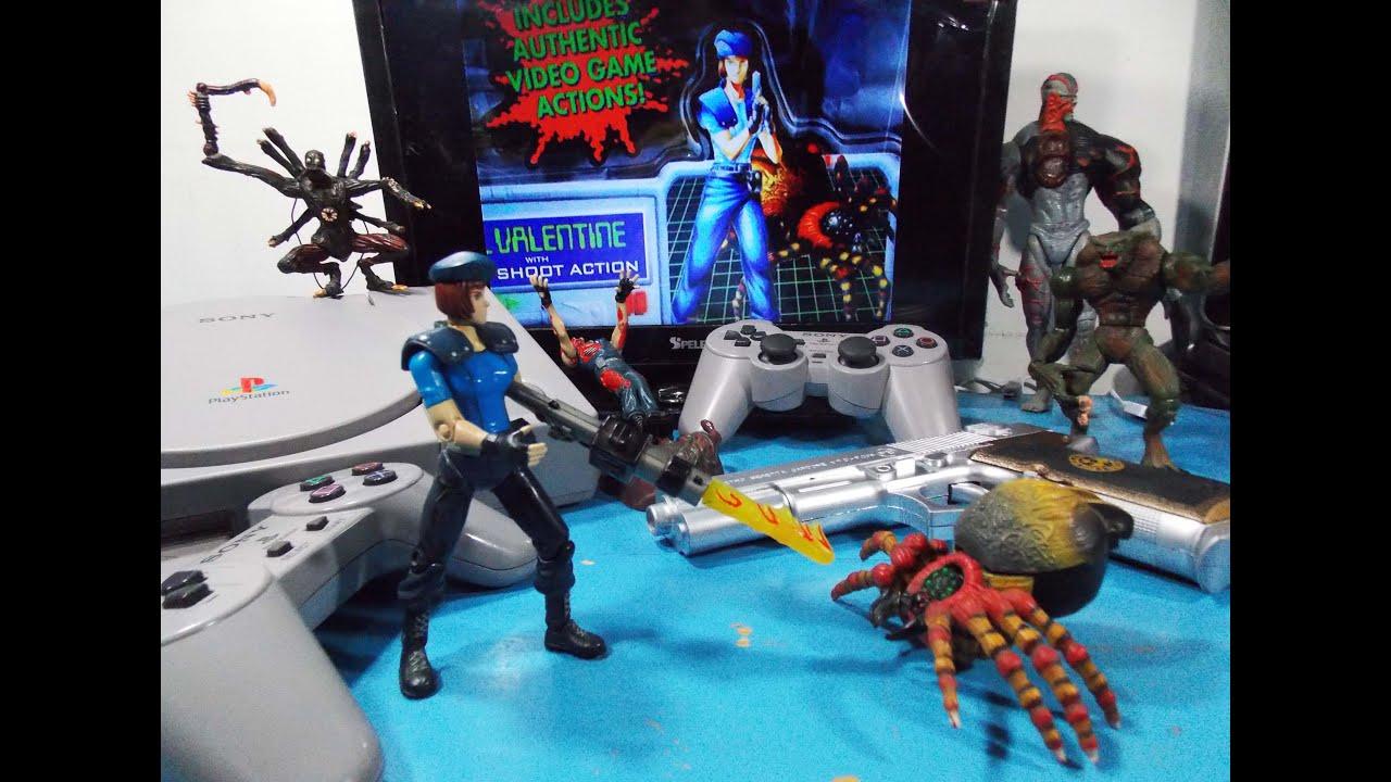 Resident Evil 6 Biohazard Toys : Jill valentine web spinner resident evil biohazard toy biz