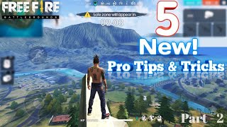 5 PRO Tips and Tricks (EP #2) For Free Fire | Become A Pro Player - Garena Free Fire Battlegrounds.