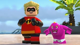 LEGO The Incredibles - Tourist District - Open World Free Roam Gameplay (PC HD) [1080p60FPS]